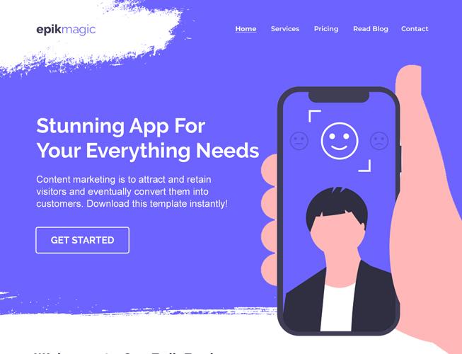 Creative Startup Landing Page